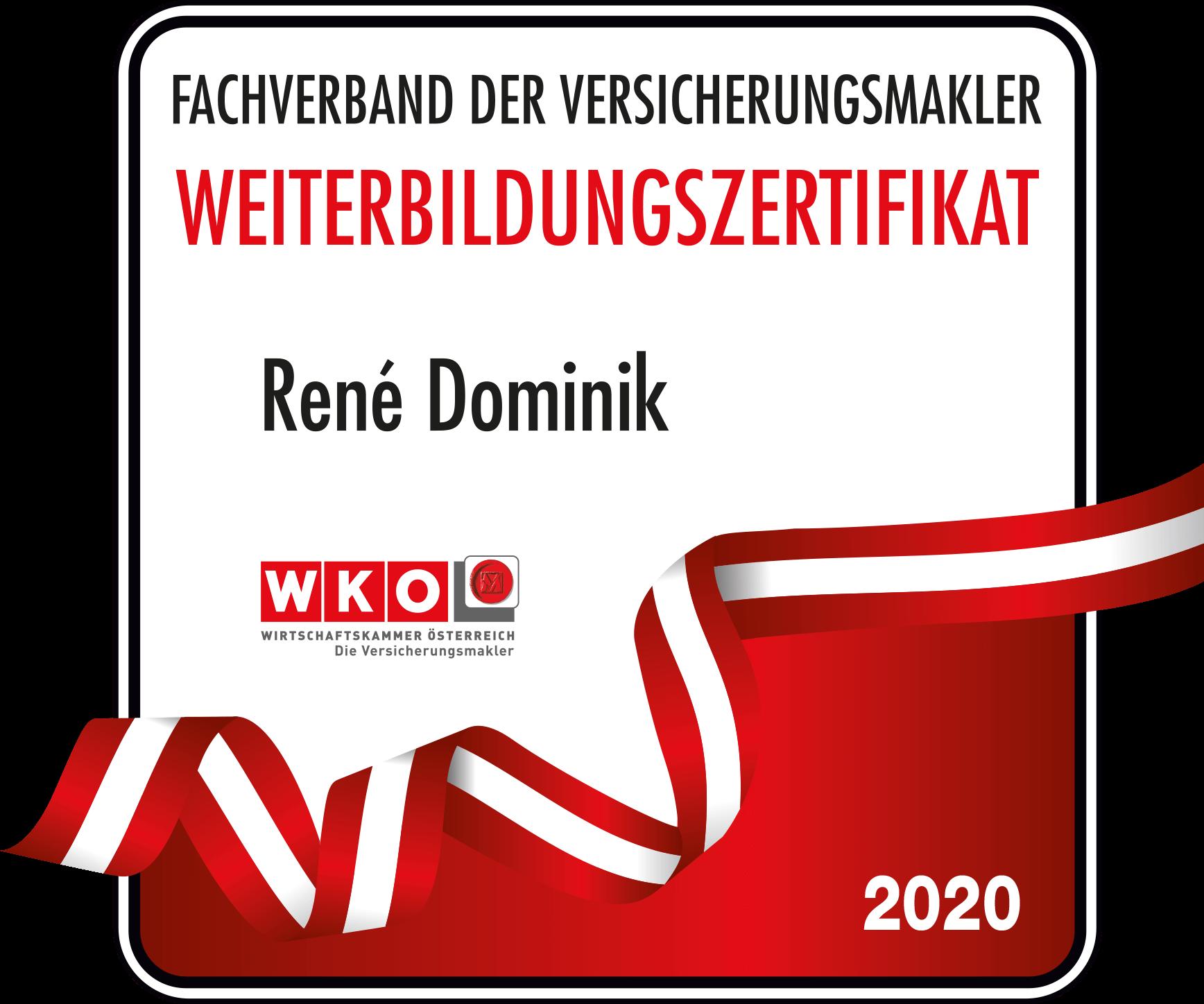 Weiterbildungszertifikat_Rene_Dominik_2020
